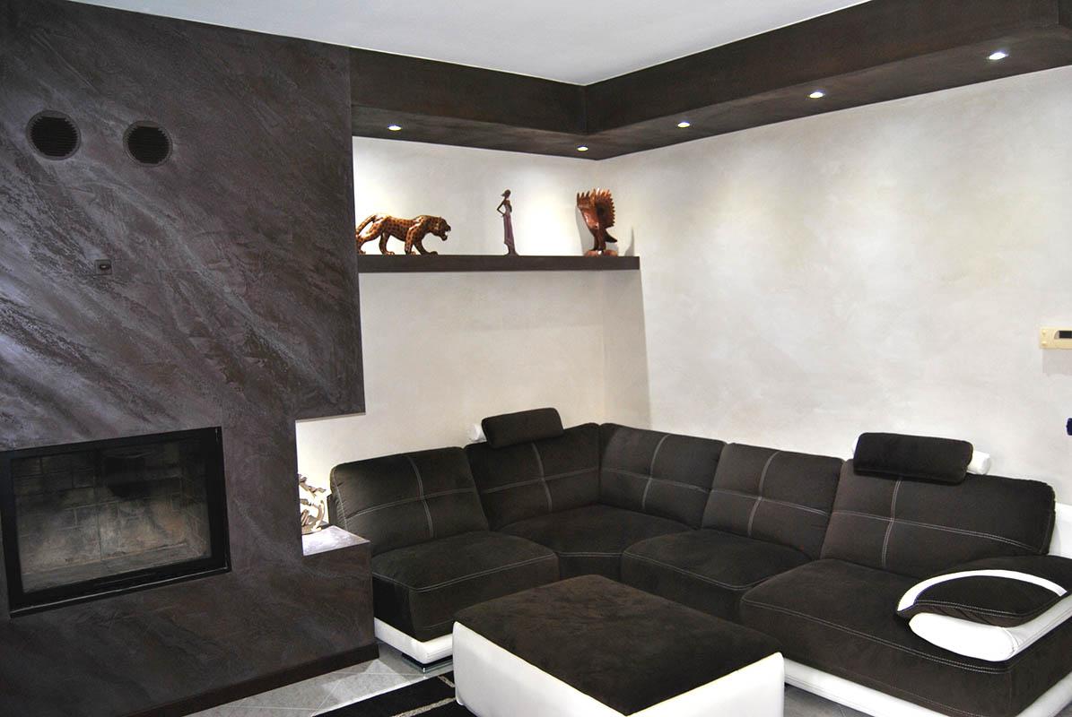 Istinto prezzi indicativi pietra spaccata stucco for Muri interni decorati