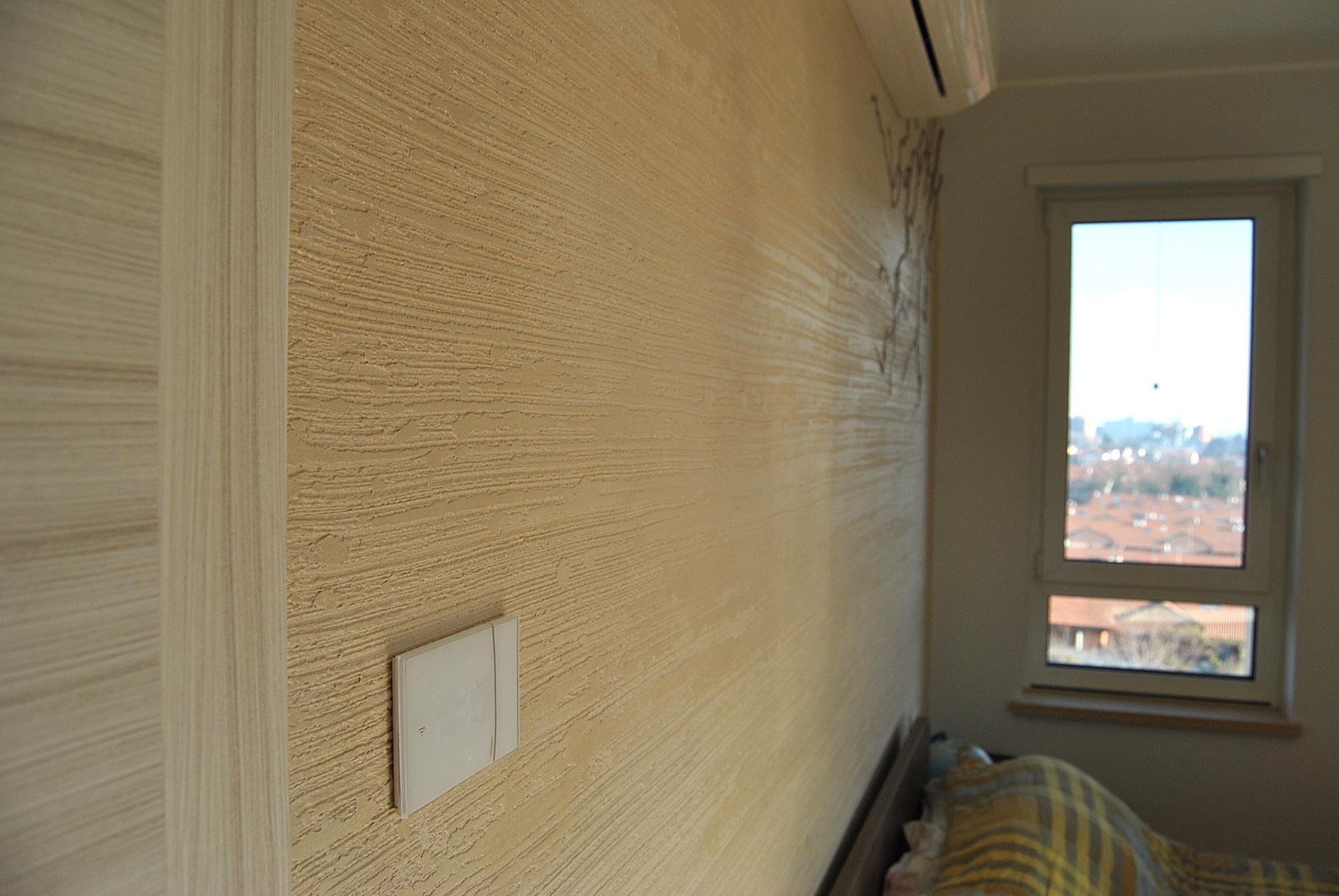 Muro naturale rivestimento decorativo per interni con polvere di mica - Rivestimento decorativo pareti ...